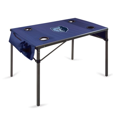 Memphis Grizzlies Travel Table (Navy) by