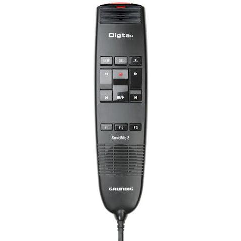 Grundig GDD8200 Digta SonicMic 3 Classic USB Dictation Mi...
