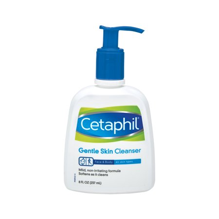 Cetaphil Gentle Skin Cleanser, Face Wash For Sensitive and All Skin Types, 8 (Md Normal Skin Cleanser)