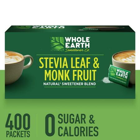 (400 Packets) Whole Earth Zero Calorie Sweetener