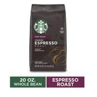 Starbucks Dark Roast Whole Bean Coffee  Espresso Roast  1 bag (20 oz.)
