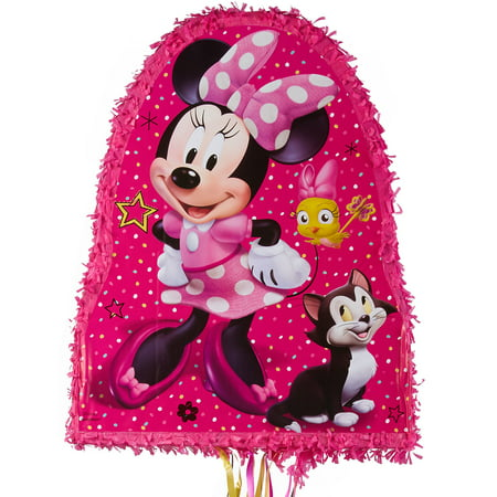 Minnie Mouse Happy Helpers Pinata - Baby Minnie Mouse 1st Birthday Pinata