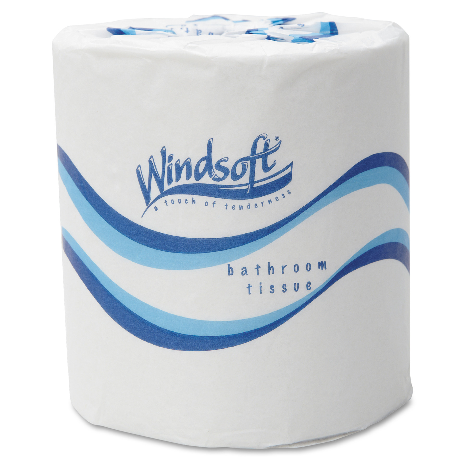Windsoft 2-Ply Embossed Bath Tissue, 500 Sheet Rolls, (Pack of 48)