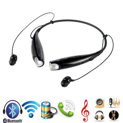 a80448dd369 Bluetooth Stereo Headset HV-800 Wireless Bluetooth V4.0+EDR Neckband Sport  Headphone for Smartphone - Walmart.com