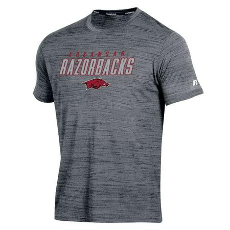 Youth Russell Gray Arkansas Razorbacks Metallic Synthetic T-Shirt
