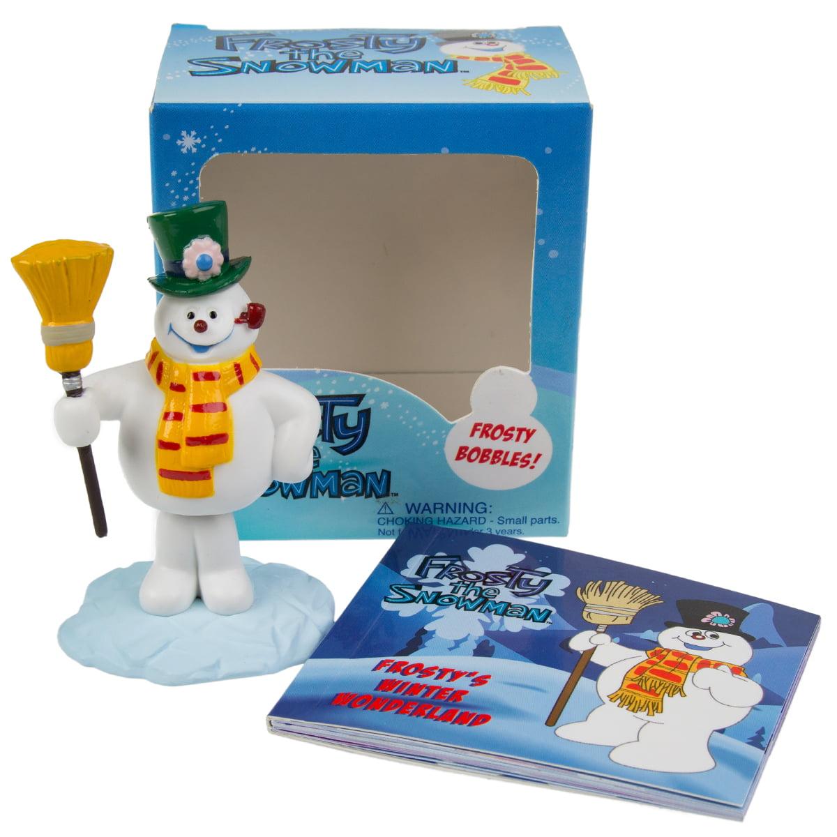 Frosty The Snowman Mega Mini Kit Book Small Bobblehead Body Figurine 1969 TV
