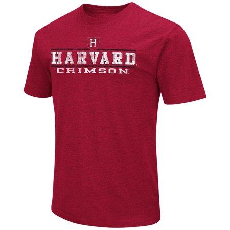- Harvard Crimson Adult Soft Vintage Tailgate T-Shirt  - Cardinal