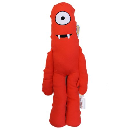 Yo Gabba Gabba Muno Red Cyclops Kids Plush Cuddle Pillow (24in)