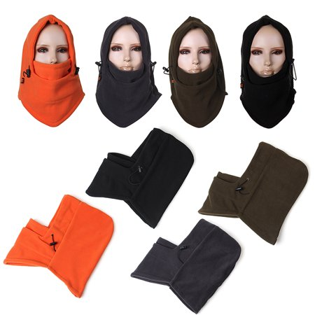 Warm Winter Beanie CS Hat Sport Clothing Cap Men Scarf Hood Neck Face Cover Mask (Scary Half Mask)