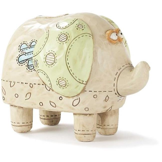 Dicksons Inc BANK-101 4 in Resin Elephant Bank