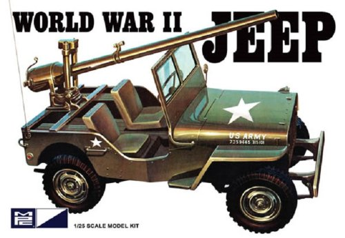 World War II Military Jeep Model Kit, The Army's versatile workhorse-authentically detailed with extra parts.... by