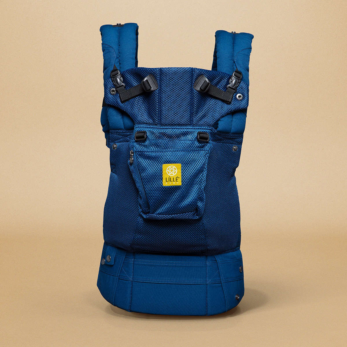 Click here to buy LILLEbaby Airflow Baby Carrier Navy by lillebaby.