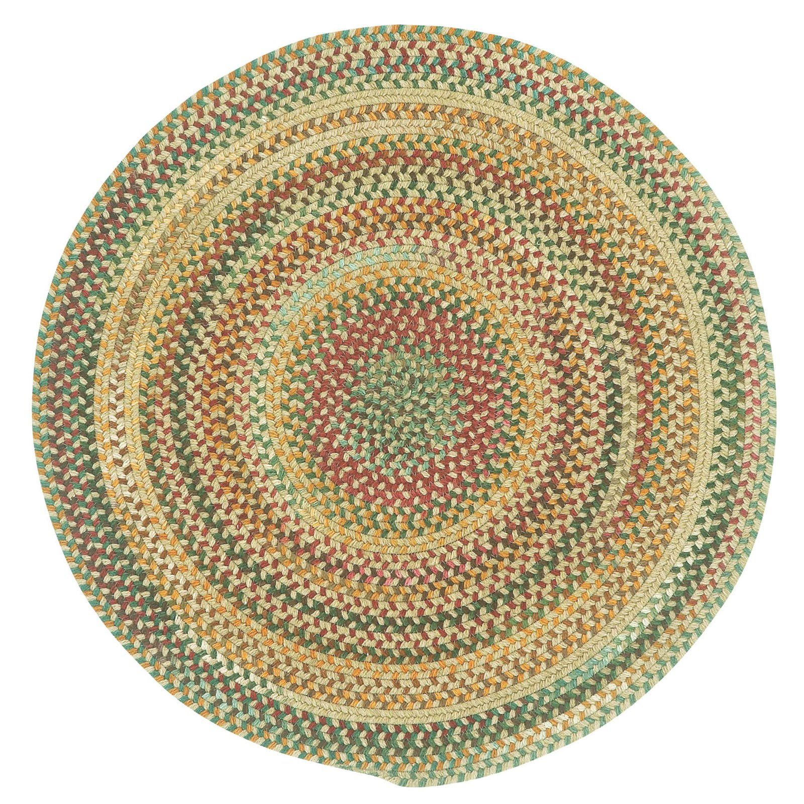 Capel Rugs Sherwood Forest 15 in. Braided Chair Pad