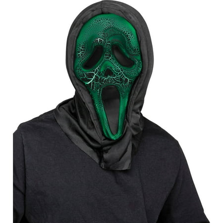 Smoldering Ghost Face Mask Adult Halloween Accessory - Ghostface Scream