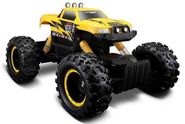 Maisto Tech 4x4 Radio Remote Control Rock Crawler 4WD Off Road RC Truck Ready to Run... by