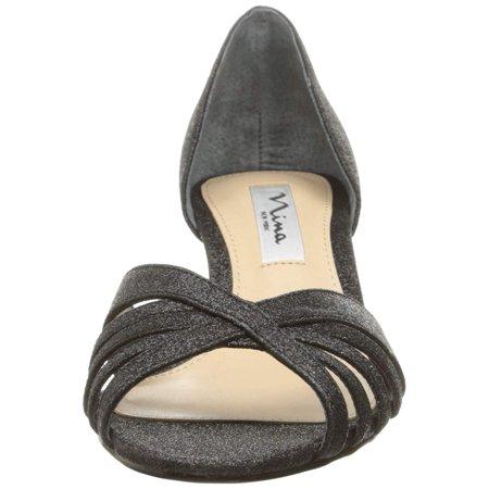 37c32a05077 Nina Womens Coella Velvet Open Toe D-orsay Pumps - image 1 of 2 ...