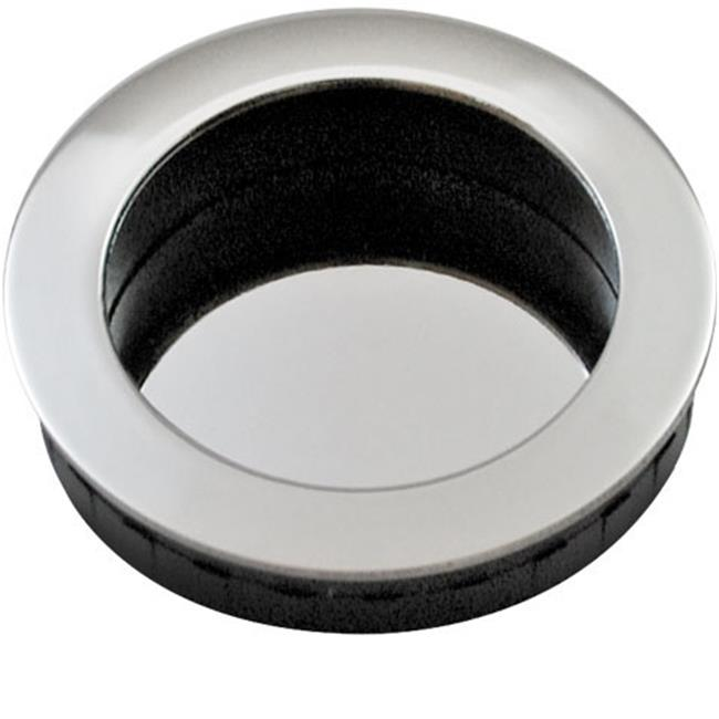 50 mm Round Flush Pull, Polished US32 - 629 Stainless Steel - image 1 of 1