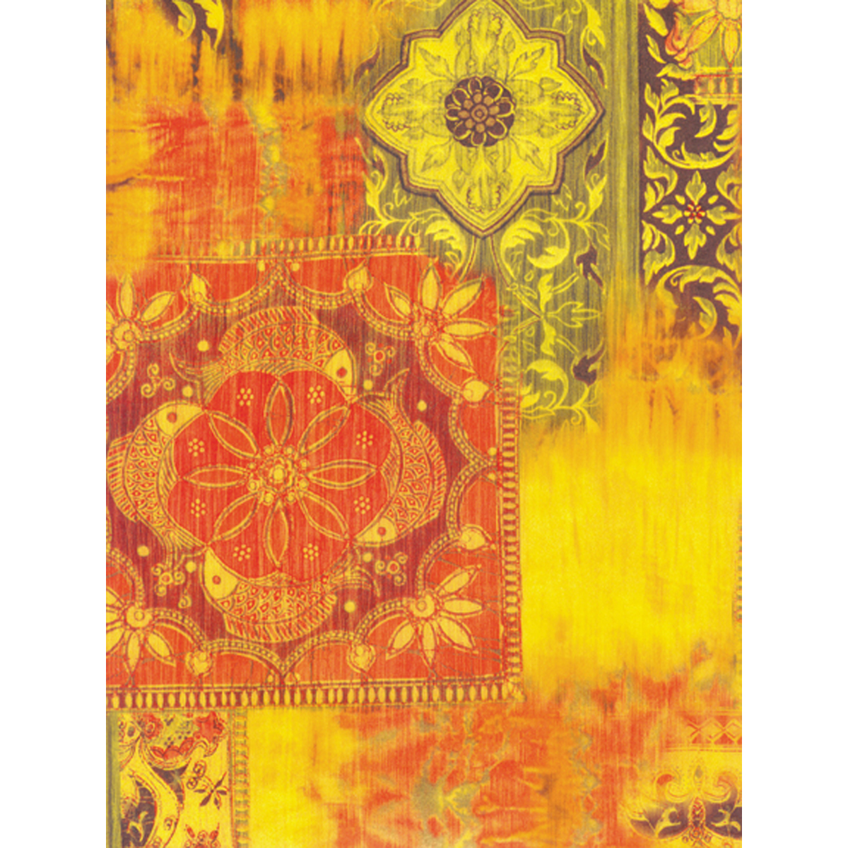 "Decopatch Papers 15.75""X11.75"" 3/Pkg-Bollywood"