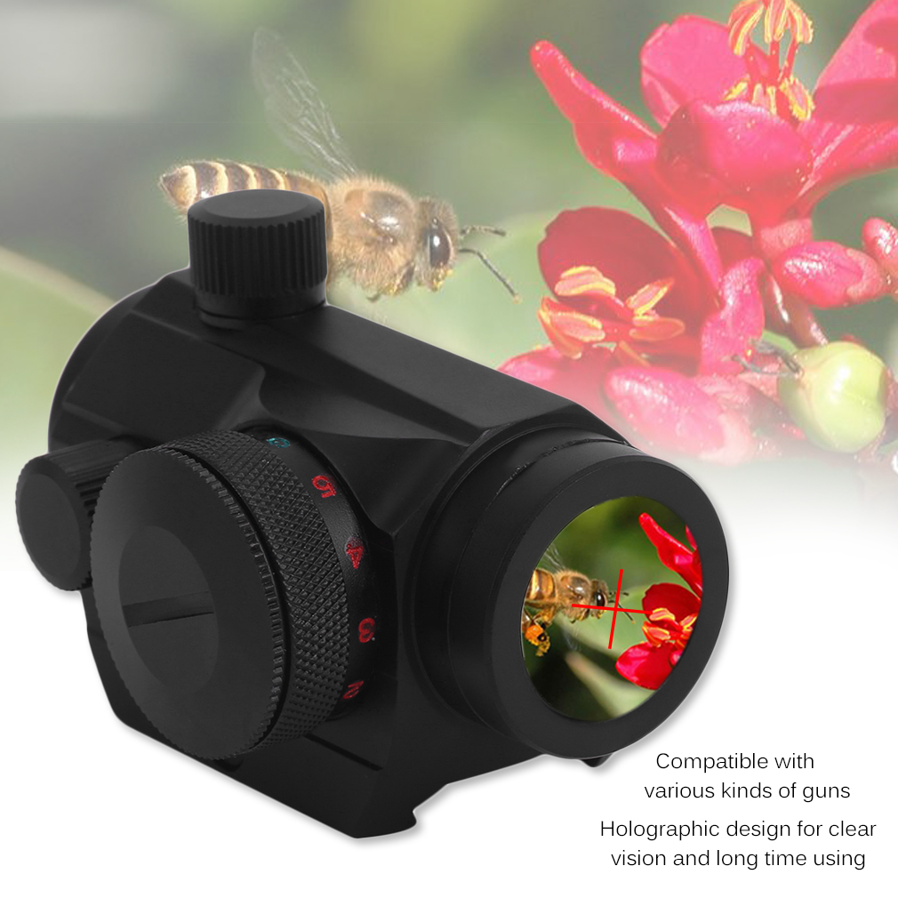 Tactical Holographic Guns Red Green Dot Sight Scope 20mm Picatinny Rail Mount A1 For Shot Gun Hunting Airsoft