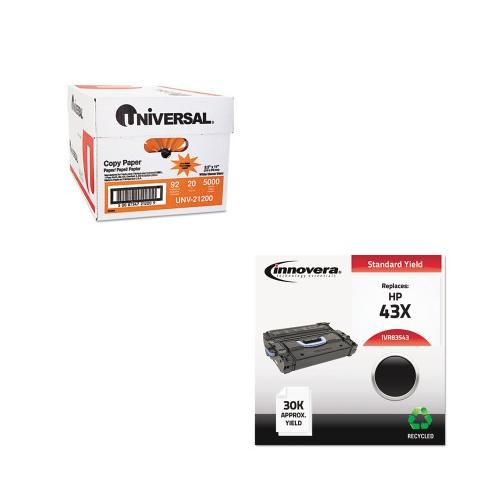 Shoplet Best Value Kit - Innovera 83543 Compatible (IVR83543) and Universal C...