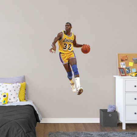 Fathead Magic Johnson - Giant Officially Licensed NBA Removable Wall -
