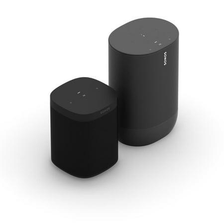 Sonos Indoor Outdoor Set with Move Smart Speaker and One SL Speaker
