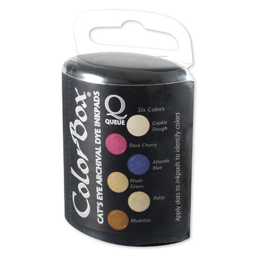 ColorBox Archival Dye Queue Coffeehouse Ink Pad