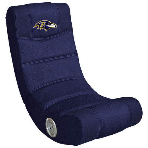 Baltimore Ravens  Video Gaming Chair with Blue Tooth