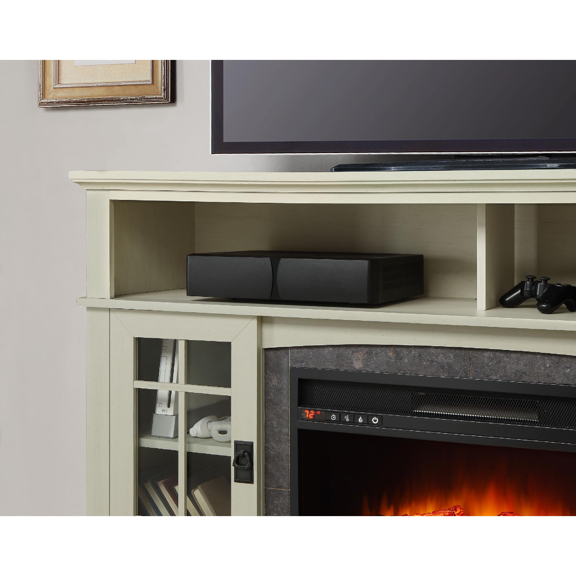 Better Homes And Gardens For Fireplace Media Mission Tvs Up To 65 Entertainment Center Wiring Diagram