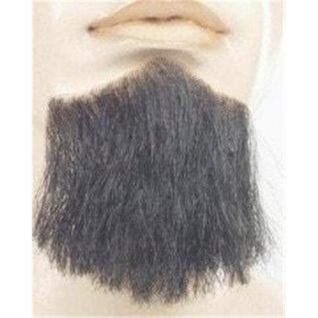 Morris Costumes LW568MBN Synthetic 3-Point Beard, No.4 Medium Brown - image 1 of 1