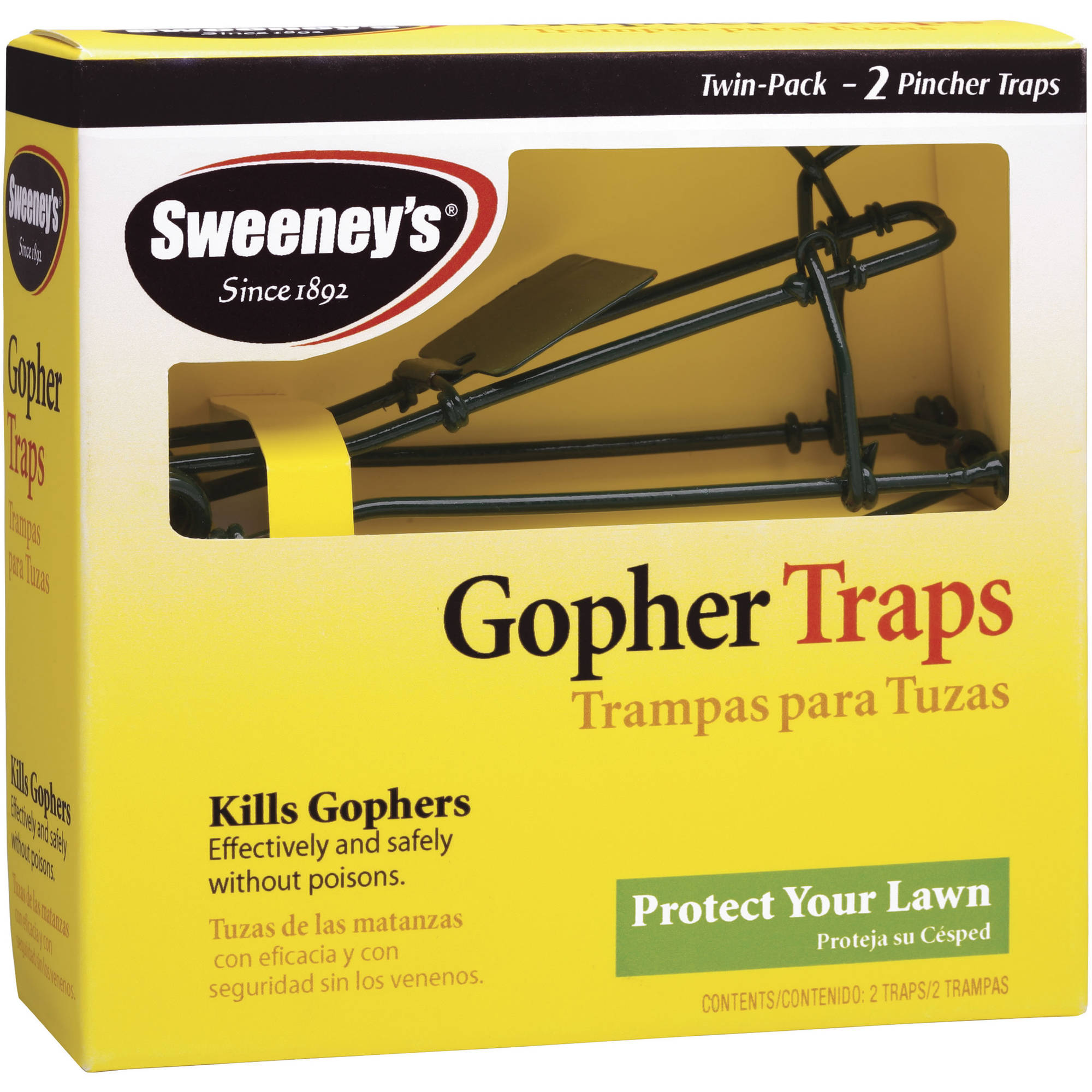 Woodstream/victor 9013 2 Count Gopher Traps