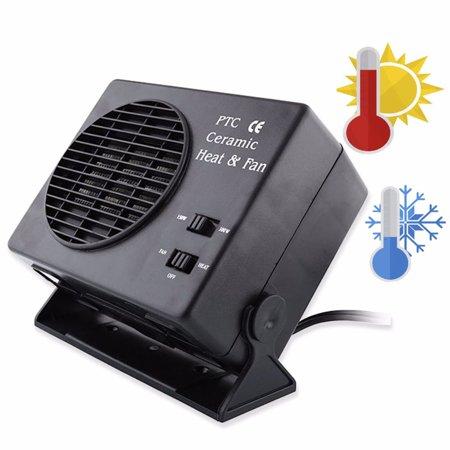 300W 12V Car Ceramic Heater Heating Defroster Windscreen Demister Hot Fan