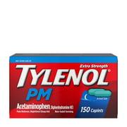 Tylenol PM Extra Strength Pain Reliever & Sleep Aid Caplets, 150 ct