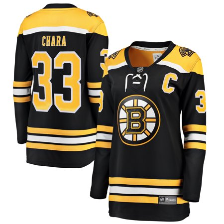 Zdeno Chara Boston Bruins Fanatics Branded Women s Breakaway Player Jersey  - Black - Walmart.com 4ea378583