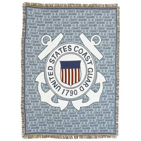 Tapestry Throw Coast Guard Full Size Blanket