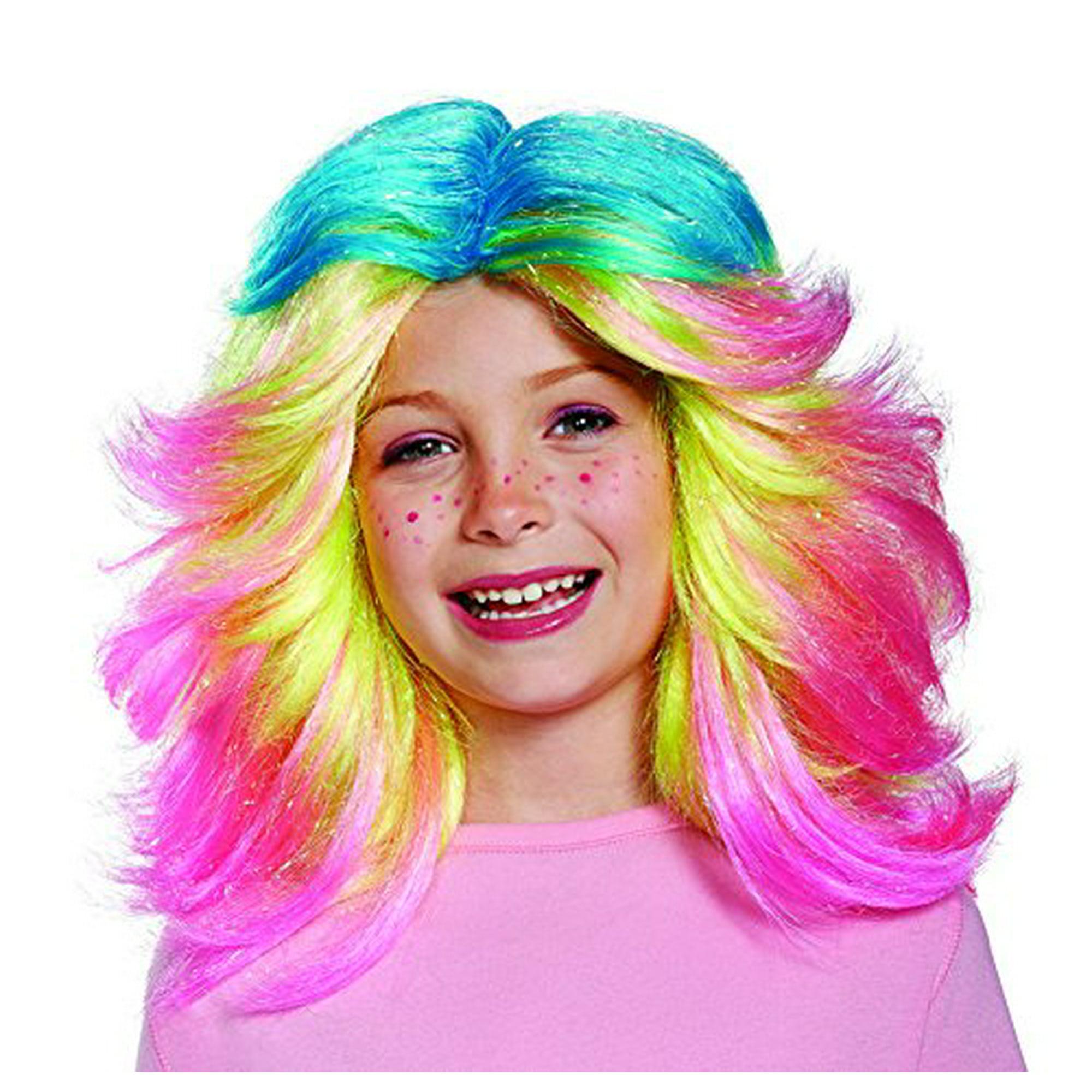 Lady Glitter Sparkles Child Trolls Wig Walmart Canada