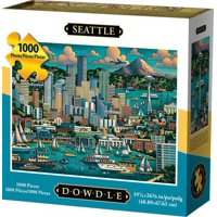 Deals on Dowdle Jigsaw Puzzle Seattle 1000 Piece 10049