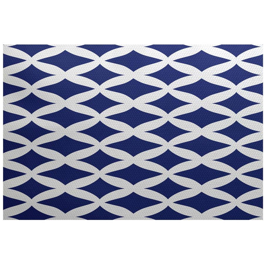 Simply Daisy 3' x 5' Lattice Kravitz Geometric Print Indoor Rug