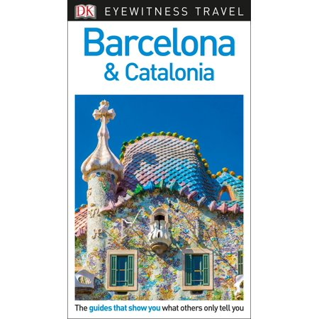 DK Eyewitness Travel Guide Barcelona and (Best Of Barcelona In 3 Days)