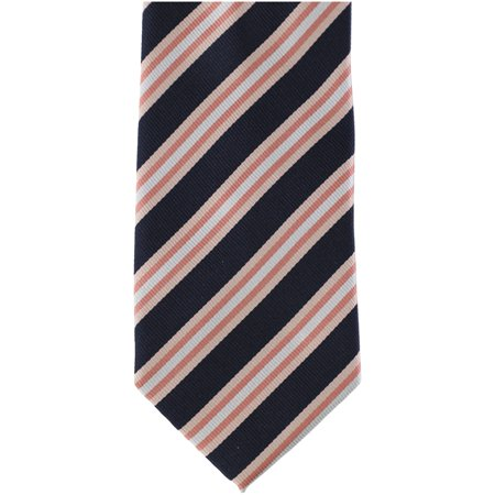 Bill Blass Mens Tonal Stripes Self-tied Necktie, Pink, Classic (57 To 59 in.) Bill Blass Clothing