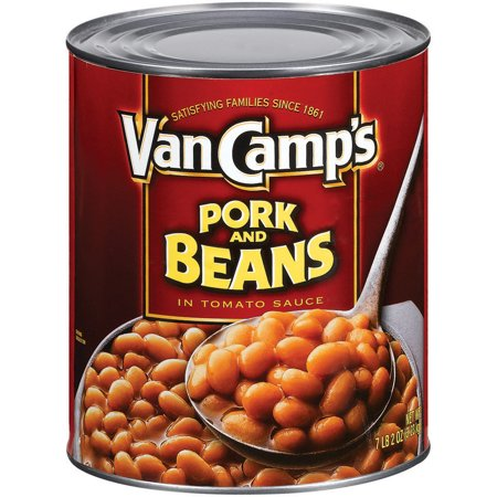Van Camps Pork - Van Camps Pork And Beans In Tomato Sauce, 114 Ounce
