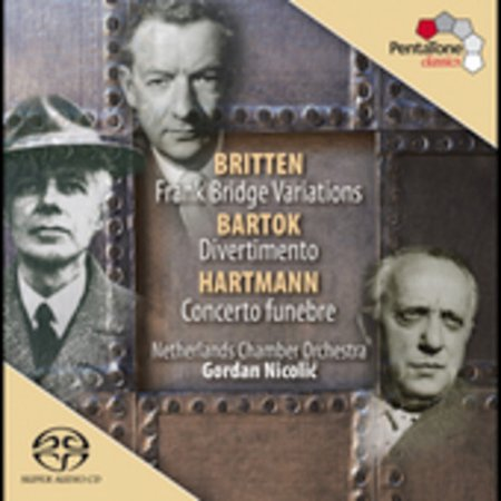 Frank Bridge - Britten/Hartmann/Bartok - Britten: Frank Bridge Variations; Bartok: Divertimento; Hartmann: Concerto Fun Bre [CD]