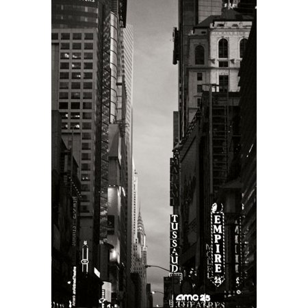 Manhatten 1 Light - Manhatten Sky, Fine Art Photograph By: Vitaly Geyman; One 24x36in Fine Art Paper Giclee Print