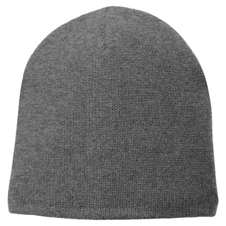 (Port & Company Men's Fleece Lined Beanie Cap)