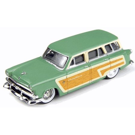 1961 Ford Country Squire - Classic Metal Works 30251 HO 1953 Ford Country Squire Wagon - Mini Metals - Fern