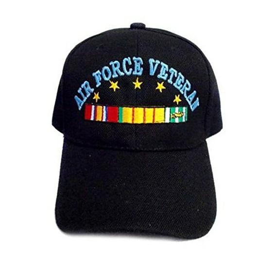 Banian Trading Co - Air Force Veteran Military Baseball Caps Hats  Embroidered (7506AF37 ZZ) - Walmart.com dbc1501c2c6