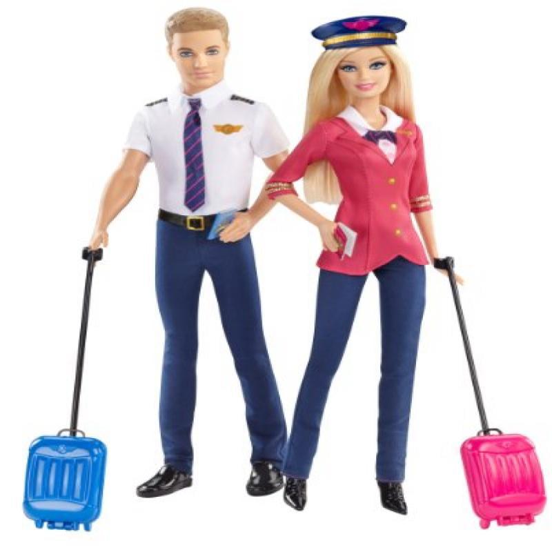 Mattel Barbie Careers Barbie and Ken Doll Giftset (2-Pack)