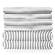 Loft Collection 6 Piece Sheet Set 1500 Thread Count Classic Stripe