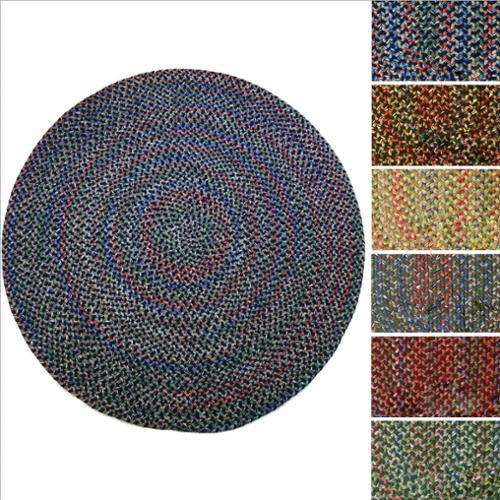 Rhody Rug Katie Indoor  Outdoor Reversible Braided Rug (4' Round) by Overstock