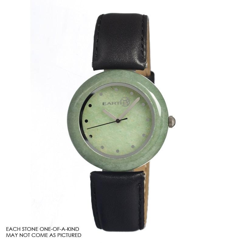 Earth Et1003 Green Jasper Watch